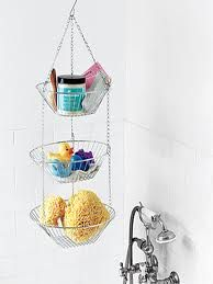 shower caddy... since all the ones that go on the shower head always fall down
