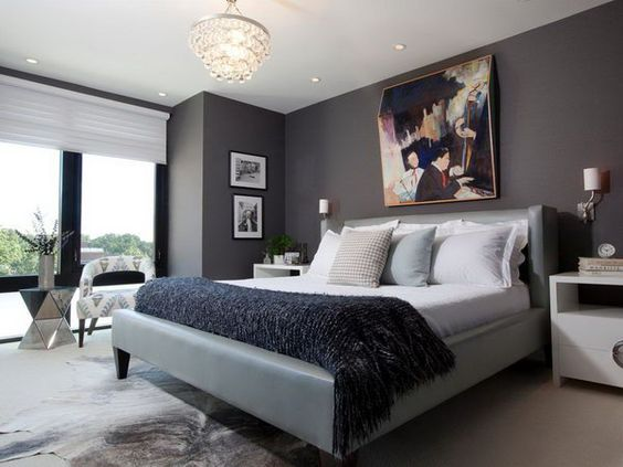 45 Beautiful Paint Color Ideas for Master Bedroom Paint colors