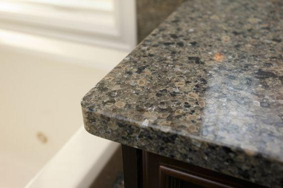 ... edges in this Cambria Quartz countertop add sophistication and design