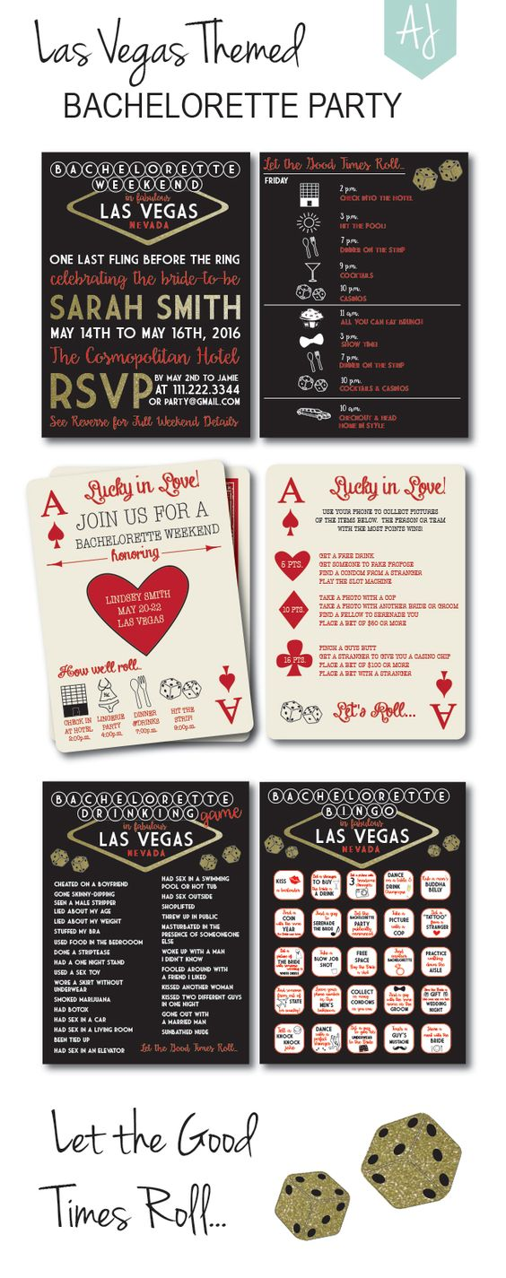Gmail themes games - Printable Bachelorette Invites Games Decorations And More Plan The Perfect Las Vegas Weekend Or Casino Party Click Through For More Themes Or Matching