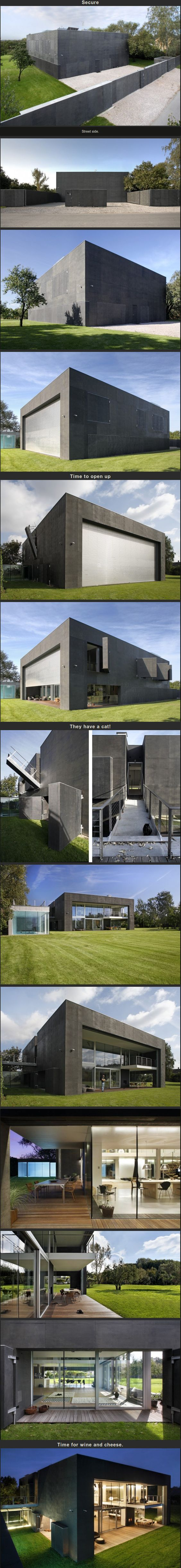 Best house for a zombie apocalypse survival ever #bunkerplans