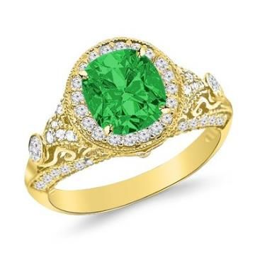 https://ariani-shop.com/13-carat-round-diamond-engagement-ring-14k-gold-vintage-halo-style-14k-gold-with-a-05-carat-cushion-cut-aaa-quality-emerald-heirloom-quality 1.3 Carat Round Diamond Engagement Ring 14K Gold Vintage Halo Style 14K Gold with a 0.5 Carat Cushion Cut AAA Quality Emerald (Heirloom Quality)