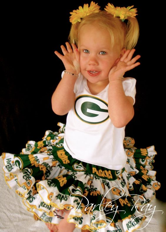 Jerseys NFL Online - Parley Ray NFL Green Bay Packers Ultimate Twirling Skirt Football ...
