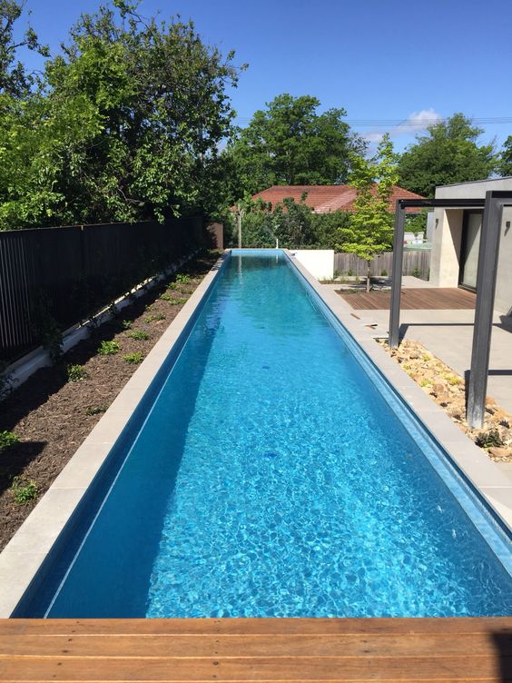 Above ground lap pool with remco remote controlled pool - Covering a swimming pool with decking ...