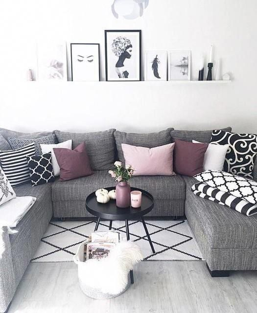 When You Re Selecting Your Furniture For Your Cozy Living Room Ideas Size And Plushness Count Soft Living Room Grey Apartment Living Room
