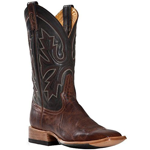 Rod Patrick Boot Makers Mens Goat Mad Dog Cowboy Boots 14 A Brown ...