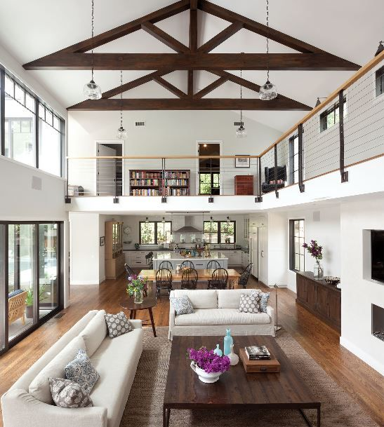 High ceiling small house plans for Modern house 6a