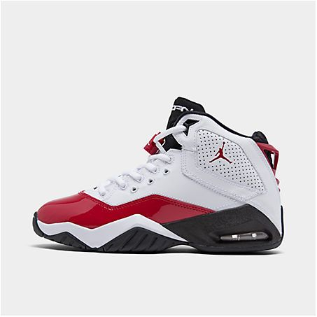 Nike Jordan Boys Big Kids Jordan B Loyal Basketball Shoes In White Red Modesens In 2020 Kids Jordans Jordan Boys Nike Jordan