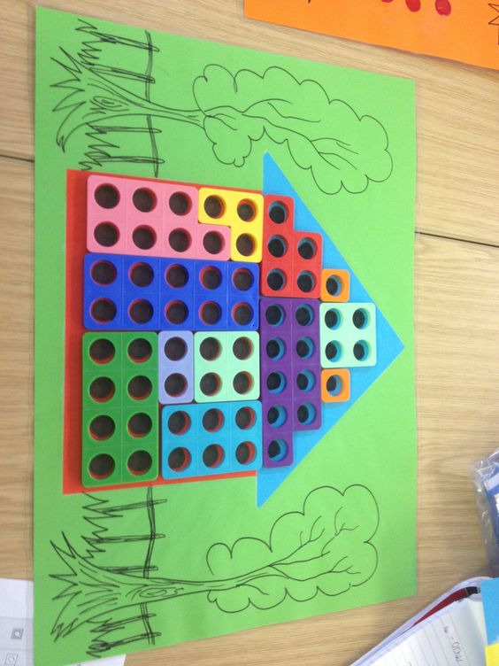 Make a house with numicon..what's the value of the house ...