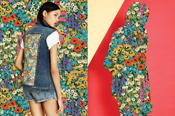 Levi's collaborates with Liberty London