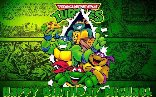Teenage Mutant Ninja Turtles Edible Frosting Sheet Image Decoration You Can Get Additional Ninja Turtles Cartoon Teenage Mutant Ninja Turtles Ninja Turtles