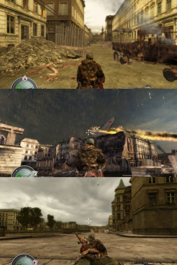 Sniper Elite 1 Game Screenshots