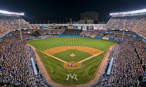 View From The Upper Deck At Old Yankee Stadium Picture Mark Whitt Yankee Stadium New York Yankees Stadium