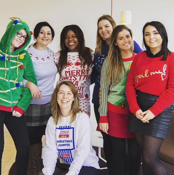 Christmas Jumper Day @ Keatons Stratford office