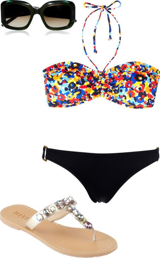 Cute beach outfit!