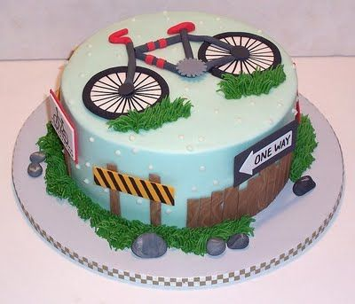 The Icing on the Cake: A Cake for a Cycling Enthusiast
