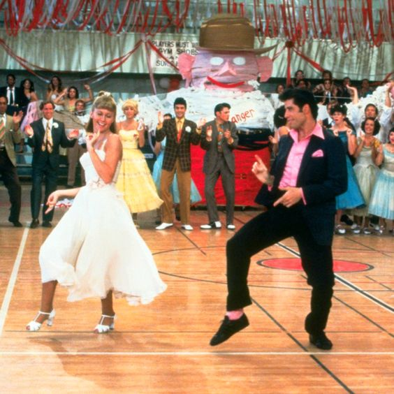Grease - probably my favourite part of the movie, again, if there's dancing, I'm more than likey going to love it!