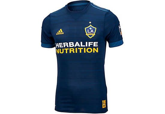 premium selection b1b1a 291b3 2015 16 los angels galaxy customized home soccer shirt kit