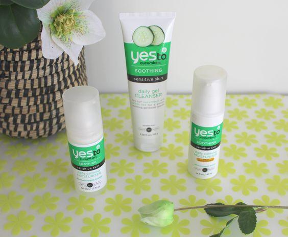 De ene verzorging is de andere niet. Zeker niet als je een droge gevoelige huid…  Yes To Cucumbers, een heerlijke cocktail van zachte, koele, verzorgende ingrediënten. Voor mijn huid, echte zomerse-top-producten!