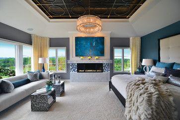 Homerama 2014 Greystone Manor - contemporary - Bedroom - Grand Rapids - Gormans