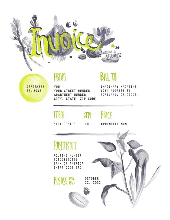 I made a customizable free invoice template for anyone who wants – Download Sample Invoice