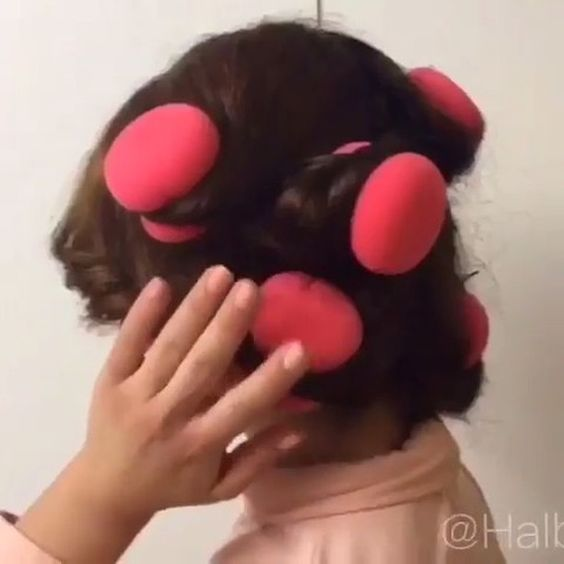 Easy way to get curls💗✨ Love it 😍 by: @halbin