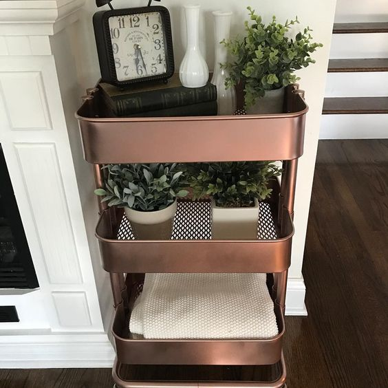 45 Creative Ways to Use a RÃ…SKOG Ikea Cart. Get organized this year with the versatile, 3-tier, RÃ…SKOG Ikea Cart. It can be used anywhere in your house.