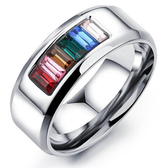 Titanium steel half the color gay ring Comrade six color rainbow rings Like minded gay men women jewelry    / //  Price: $US $1.67 & FREE Shipping // /    Buy Now >>>https://www.mrtodaydeal.com/products/titanium-steel-half-the-color-gay-ring-comrade-six-color-rainbow-rings-like-minded-gay-men-women-jewelry/    #OnlineShopping