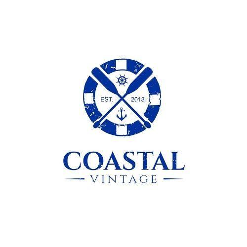 Coastal Vintage - Coastal Vintage logo design coastal vintage home ...