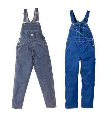 overalls. I even had shortalls *cringe*