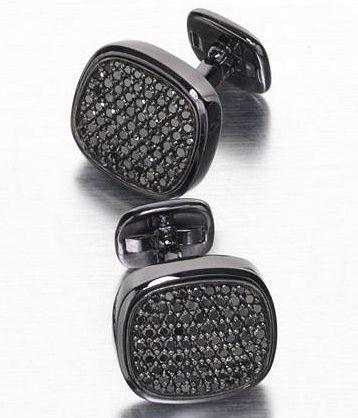 david yurman black diamond cufflinks to go with my