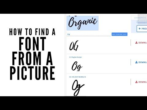 Looking For The Best Way To Find A Font From A Picture We Are Comparing Four Different Websites To Show You Which In 2020 Scrapbook Fonts Lettering Practice Lettering