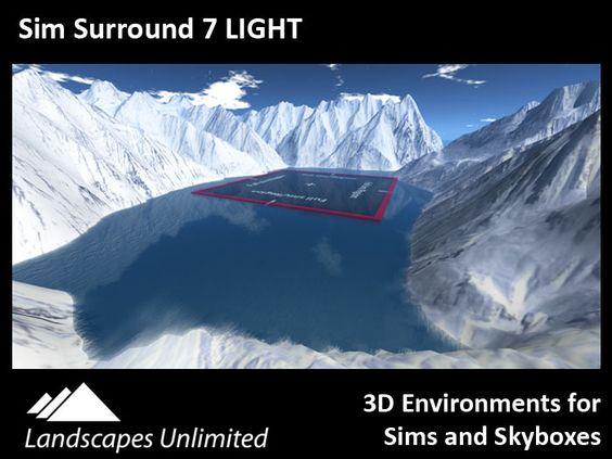Sim Surround Environment 7 LIGHT