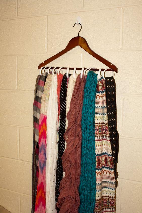 cheap scarf storage