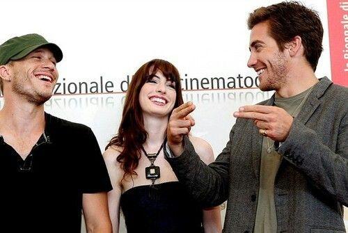 Heath Ledger, Anne Hathaway, Jake Gyllenhaal