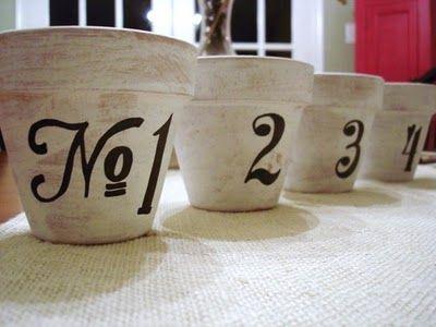 typography flower pot tutorial