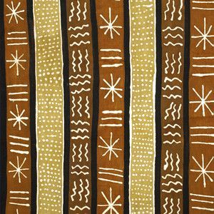 African Mud Cloth Fabric Painting - This pattern could be ...