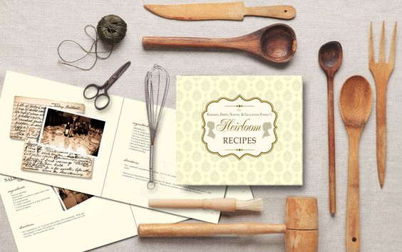 The Heritage Cookbookwas created for Jennifer Cataldo and this beautiful book is a collection of recipes going back several generations that have been passed down through the years. We designed this book to include old family photos and we also included the actual hand written recipe cards. We added extra blank pages in the back of this cookbook so the newest cooks in the family can also include their recipes.