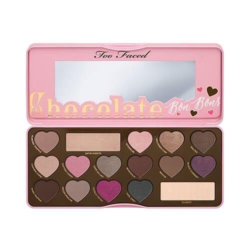 Paleta De Sombras Too Faced Chocolate Bon Bons Na Sephora Paletas De Maquiagem Produtos De Maquiagem Sombra De Olho