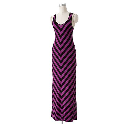 Apt 9 popover maxi dress under graduation