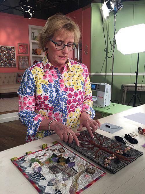 Vivika Hansen Denegre Guest On Quilting Arts Tv Series 2200