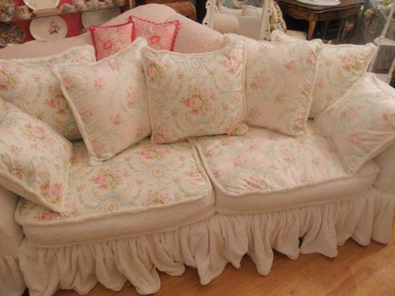 Sofa covers, Shabby chic and Sofa uk on Pinterest