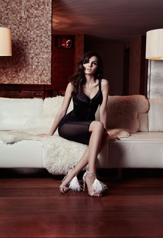 Jimmy Choo Chalet-Chic Campaign Switzerland Candice Lake / Doina Ciobanu