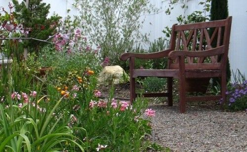 (landscape by Designs by Shellene)  Come, Sit with Me, in My Garden...
