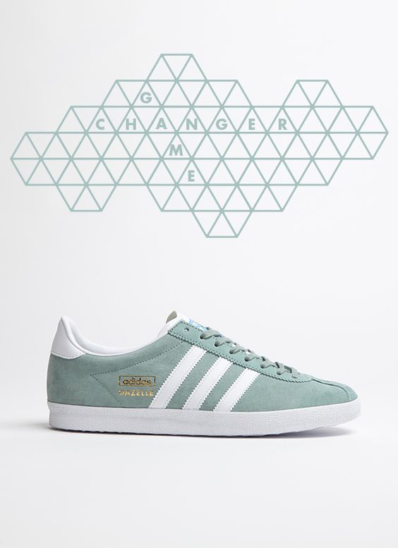 adidas Originals Gazelle OG: Light Green: