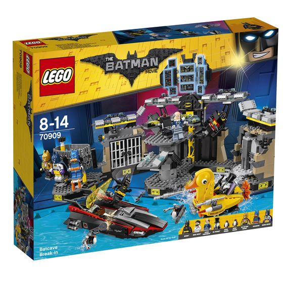 THE LEGO BATMAN MOVIE Batcave-Einbruch 70909