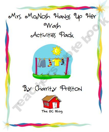 Mrs. McNosh Activities Pack