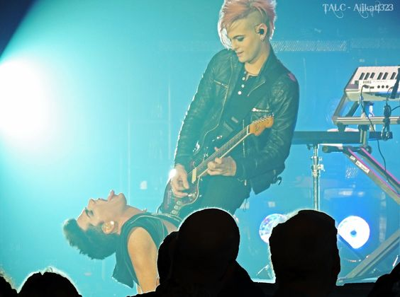 Adam Lambert & Tommy Joe Ratliff | Source: @Alikat1323
