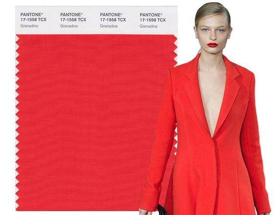 Fall/ Winter 2017-2018 Pantone Colors: Grenadine