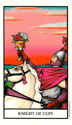 tarot knight of cups relationship
